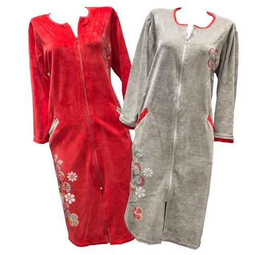 купить велюровый халат
